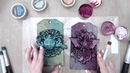 Mixed Media Tags With Finnabair Art Alchemy Waxes by Keren Tamir