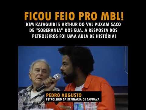 Petroleiros destroçam MamaeFalei e Kim Kataguiri que se lixam para a soberania do Brasil