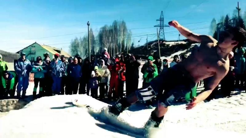 Закрытие горнолыжного сезона в Губахе