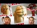 Легкая детская прическа 👍 Быстрая прическа для девочек из хвостиков 😍