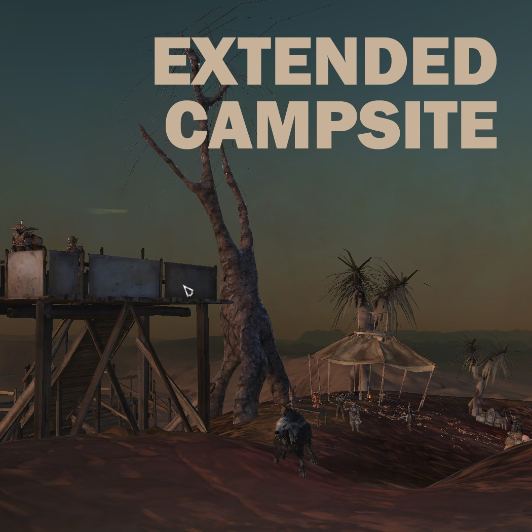 Extended Campsite / Расширенный кемпинг (RU)