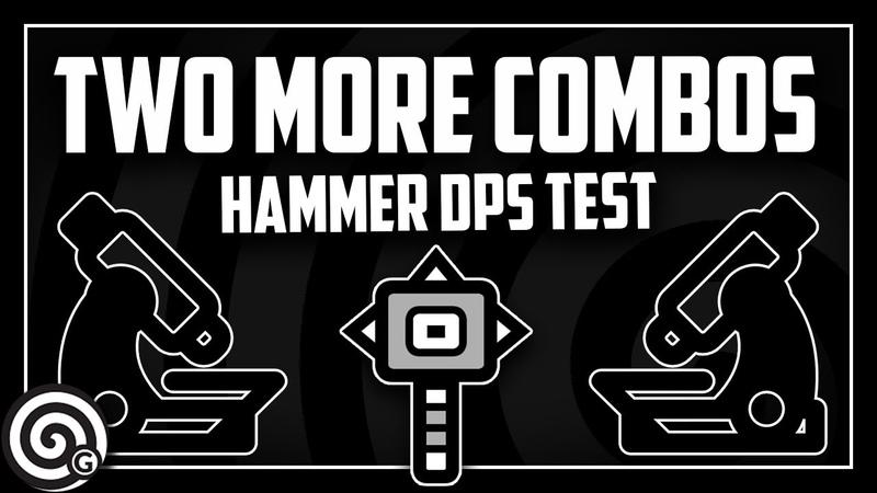Two more combos - Hammer Moveset Test | Monster Hunter World