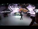[4x4 NIVA-TV] The conceptional car LADA 4x4 VISION presented by Steve Mattin today 29 August 2018