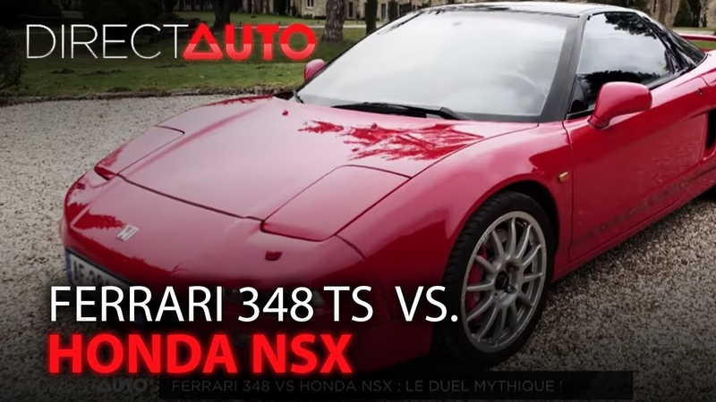 RÉTRO FERRARI 348 TS vs HONDA NSX