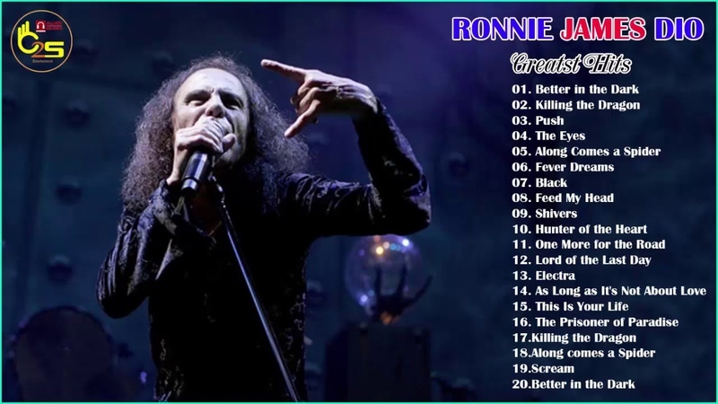 Ronnie James Dio Greatest Hits - Best Of Ronnie James Dio Full Album - Ronnie James Dio Playlist