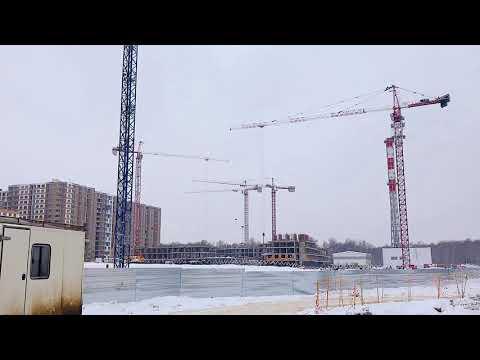 Стройплощадка ЖК Москвичка Гранель