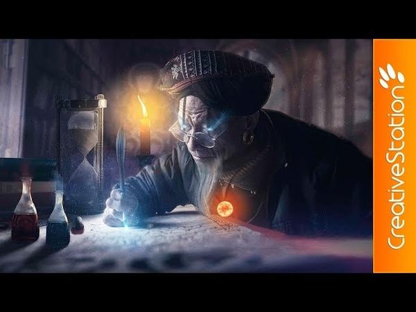 Zol' Thai - The Grand Alchemist - Speed art - (Photoshop) | CreativeStation