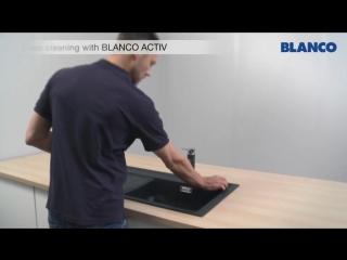 Уход за мойками BLANCO из материала SILGRANIT® PuraDur® II