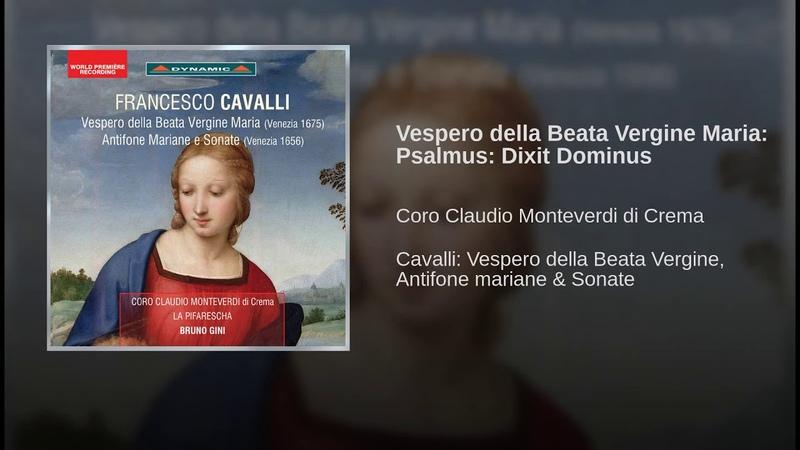 Vespero della Beata Vergine Maria Psalmus Dixit Dominus