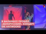 В Вильнюсе прошел «белорусский» концерт Die Antwoord
