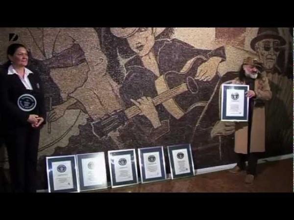Largest Coffee Bean Mosaic - AOL.com Video