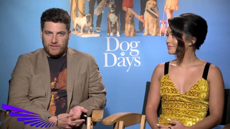 DOG DAYS - ADAM PALLY VANESSA HUDGENS INTERVIEW