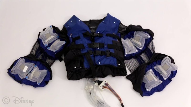 Force Jacket: Pneumatically-Actuated Jacket for Embodied