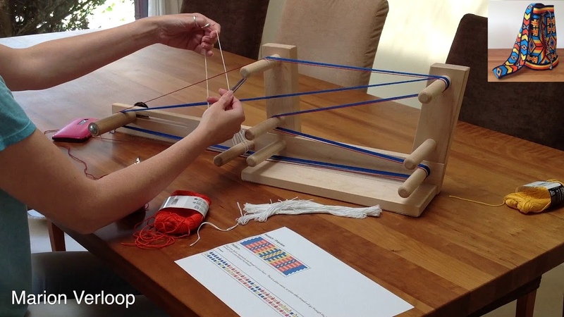 How to warp an Inkle loom