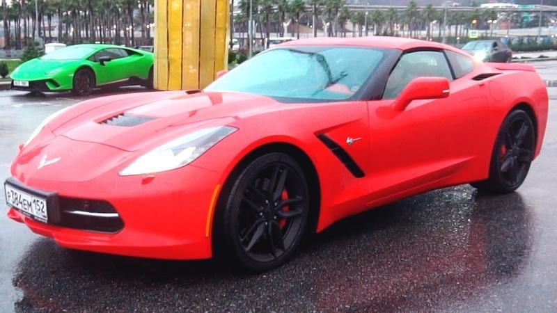 Corvette или Huracan? ЧТО ЛУЧШЕ? ДЕЛАЮ 360 ГРАДУСОВ