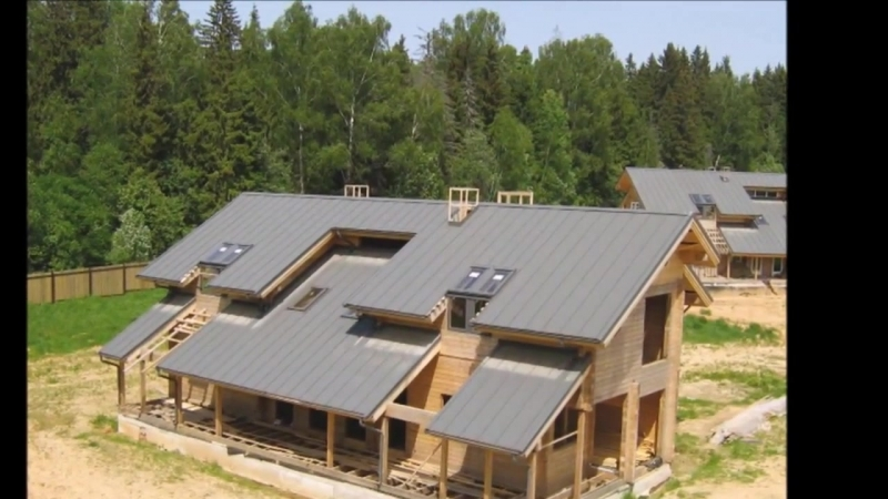 Крыши домов (идеи)