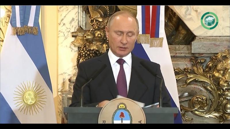 «Большая двадцатка» приняла итоговую декларацию на саммите в Аргентине. Мир за неделю. ФАН-ТВ.