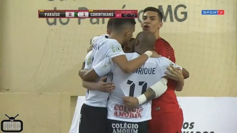 Jogo Completo Intelli x Corinthians - 13ª Semana Liga Nacional de Futsal 2018 (06/08/2018)