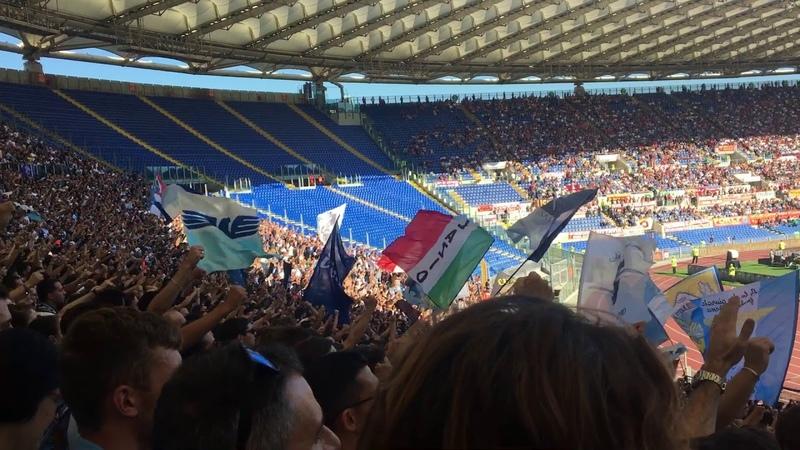 LAZIO IS ON FIRE! - Curva Nord - Roma-Lazio 3-1