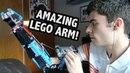 Incredible LEGO Prosthetic Arm Hand Solo