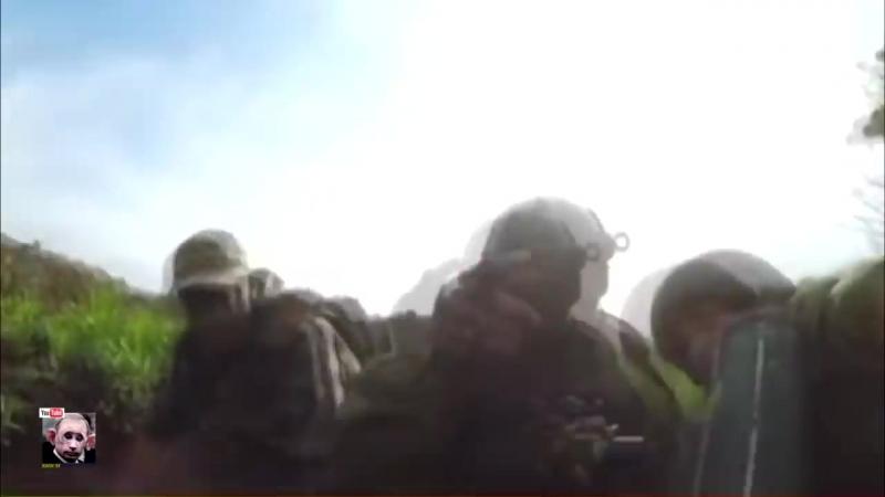 Два блиндажа досвидания. На Светлодарской дуге боевая группа К-2 прикопала российских боевиков