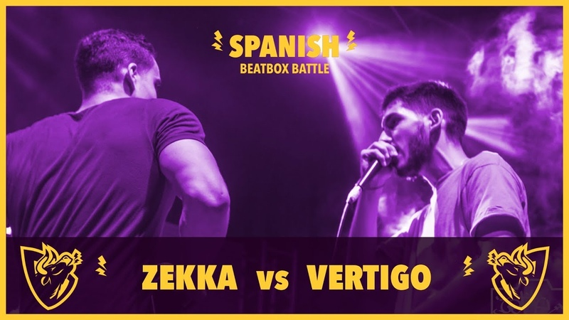 ZEKKA vs VERTIGO - Semifinal - Spanish Beatbox Battle 2018