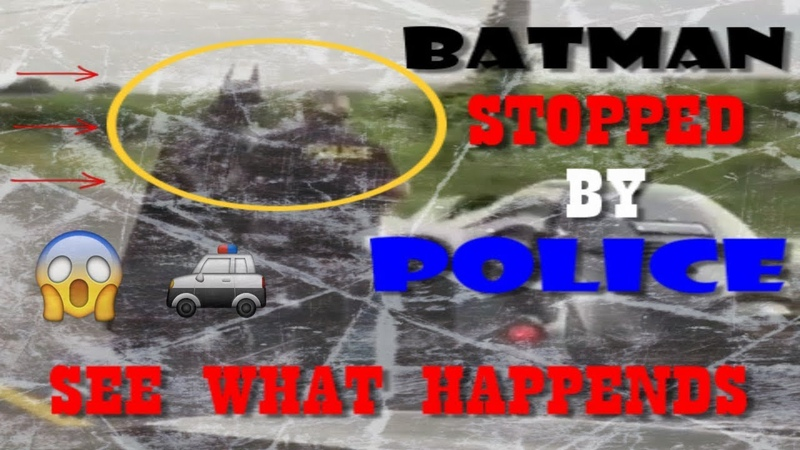 Batman Gets Pulled Over Stop By Police