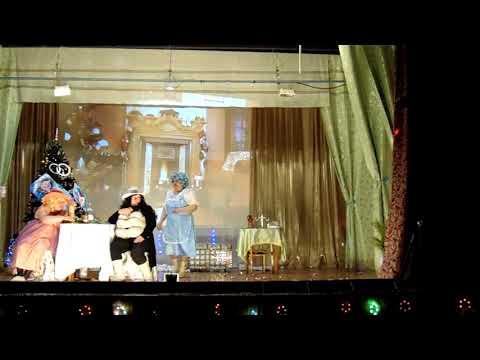 2 часть Новогодняя ХРЮК ОПЕРА Хрюмео и Хрюльетта ДК п Боровой 30 12 2018