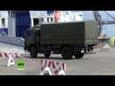 Rund 10.000 Soldaten und 8.000 Fahrzeuge - Bundeswehr verschifft Truppen zur NATO-Großübung