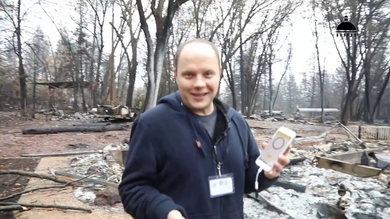 Измеряем радиацию в сгоревшем городе Парадайз