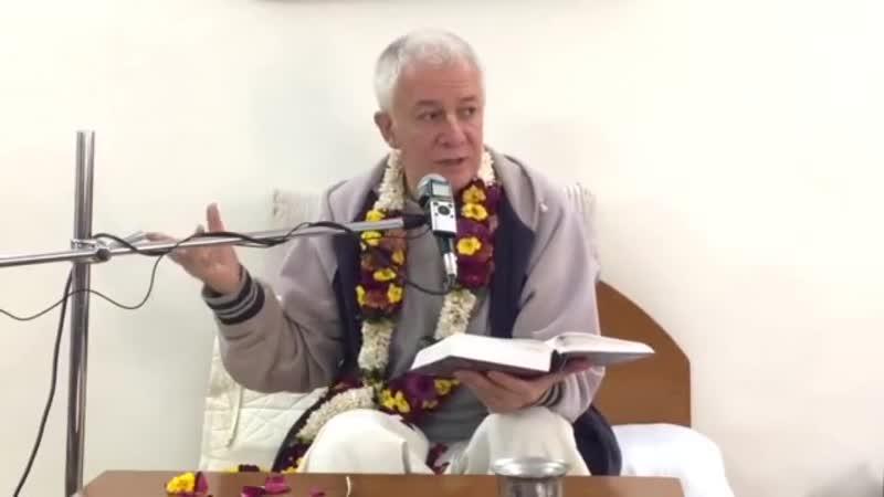Е.М.Чайтанья Чандра Чаран прабху (отрывок) - Бхагавад-гита Лекция 8, Глава 4 (VIHE)