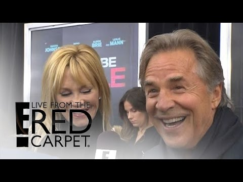 Melanie Griffith Don Johnson Super Proud of Dakota