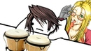 Bongo Cat but its Squall from Final Fantasy 8