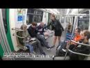 Фемки в Питерском метро нарушают закон