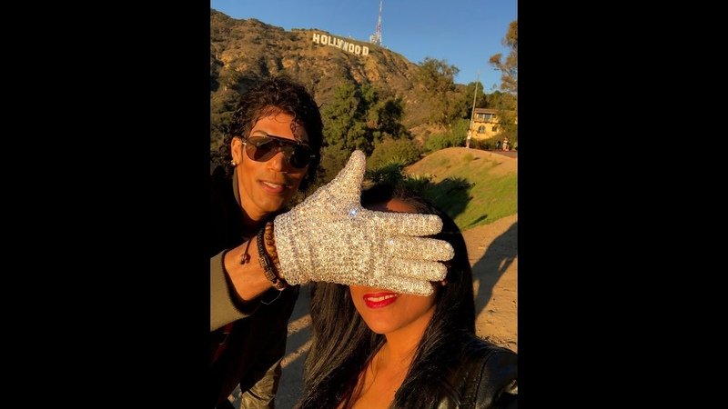 NEW! Michael Jacksons Hollywood Star with Michael Trapson and Shana Mangatal