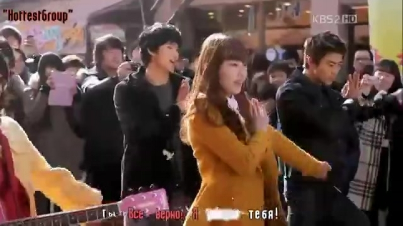 Одержимые мечтой Dream High 2PM (Taec, Wooyoung) IU, Suzy, Kim SooHyun - Tell Me Your Wish (RUS SUB) (SNSD cover)-19645336072