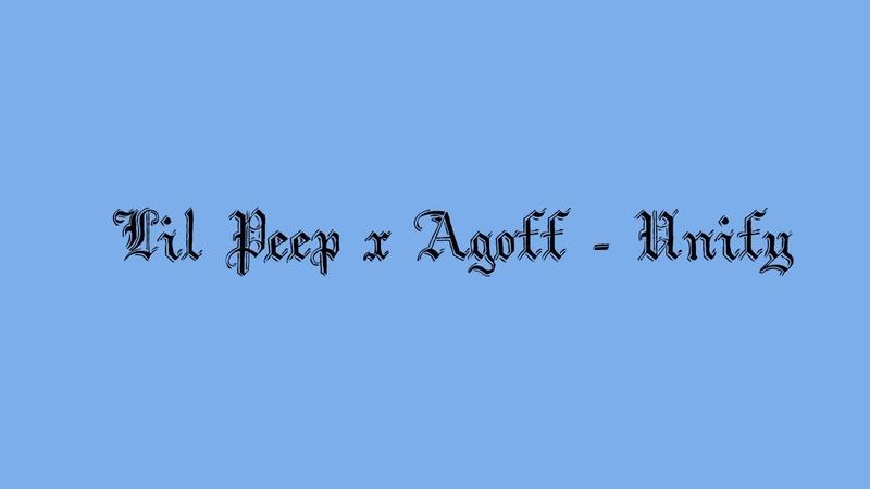 Lil Peep x Agoff - Unify (lyrics) (rus sub)
