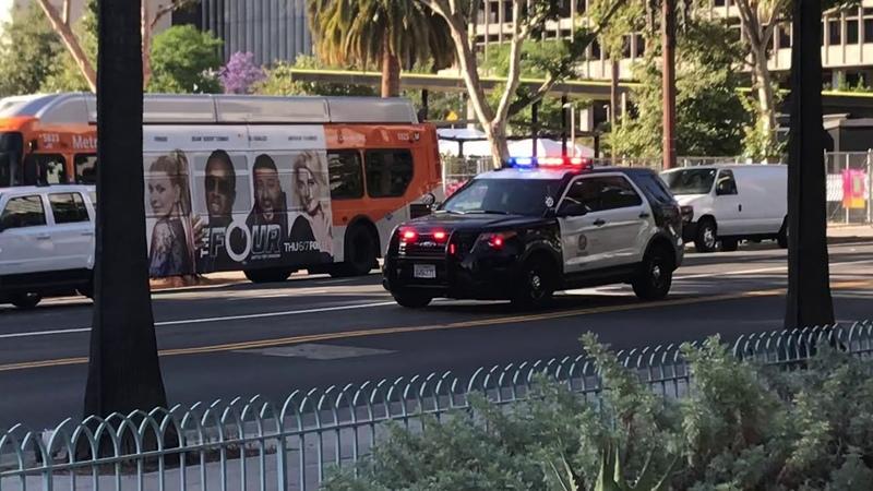 LAPD responding code 3