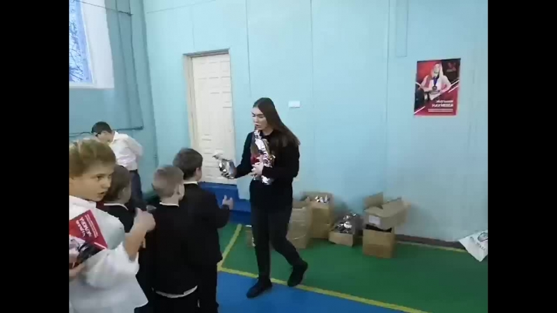 ДНР подарки в 3 интернат Донецк