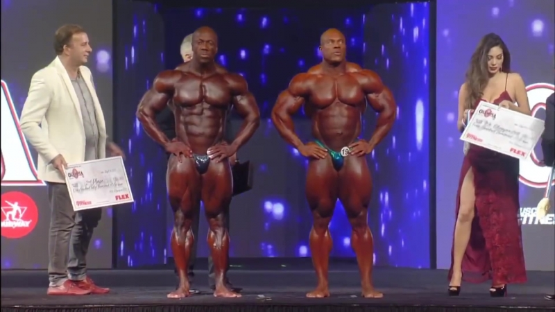Мистер Олимпия 2018 | Mr. Olympia 2018 Results | Shawn Rhoden, Phil Heath, Roelly Winklaar, William Bonac