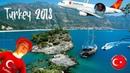 Турция Белек 2018 Limak Atlantis SmartLynx Airlines Первая часть видео Средиземное море