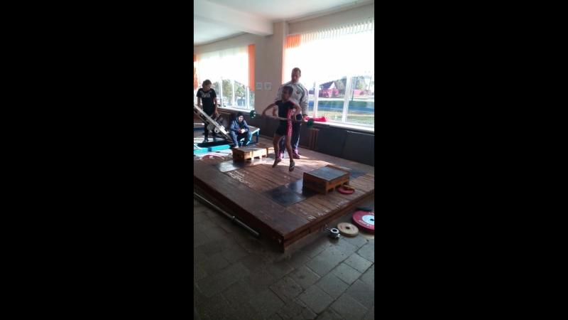 Рывок по тежолай отлетике