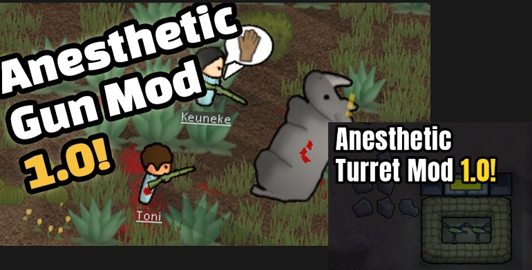 Anesthetic Gun and Turret