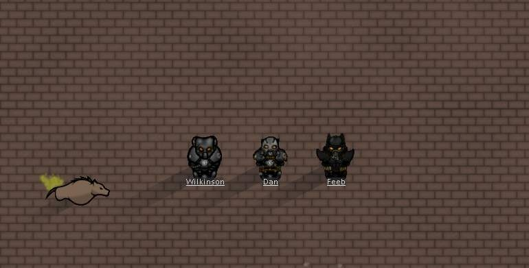 Enclave Armory (Броня Анклава) для Rimworld
