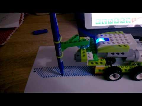 Lego WeDo 2.0 robo-painter