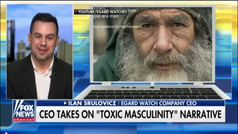 Egard Watches Response to Gillette ad Commercial on Fox News