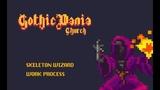 Skeleton Wizard Work Process - GothicVania Church