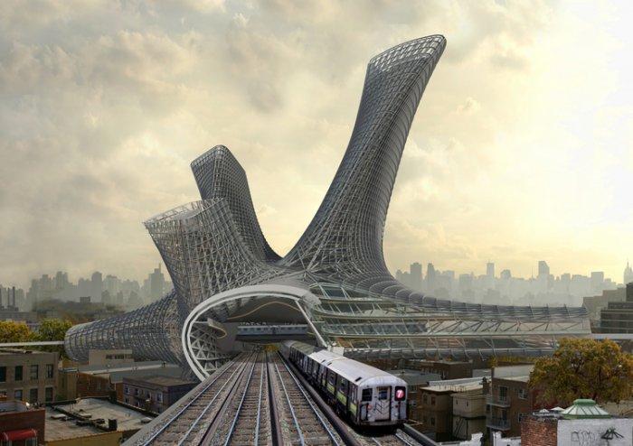 Мобильная транспортная башня «Urban Alloy»