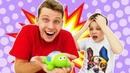 Игры для мальчиков - У Трансформеров новый питомец! – Видео с игрушками.
