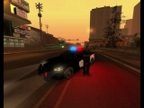 Police Dodge Charger Hellcat with ELM